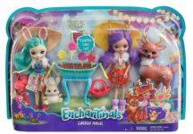EnchanTimals babák állatkával - Varázskert játékszett