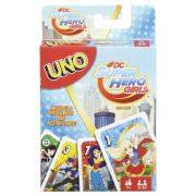 DC Super Hero Girls UNO kártya