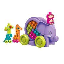 Fisher-Price Mega Bloks Elefánt parádé 25 db-os játékszett Lányoknak