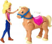 Barbie Póni verseny lovas játékszett