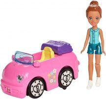 Barbie on the Go - Autómosó játékszett