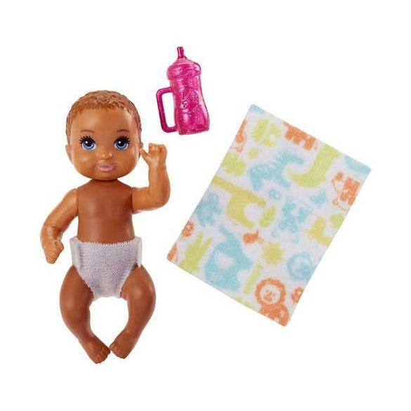 Barbie Skipper Babysitters kisbaba - Világosbarna hajú