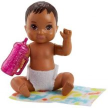 Barbie Skipper Babysitters kisbaba - Sötétbarna hajú