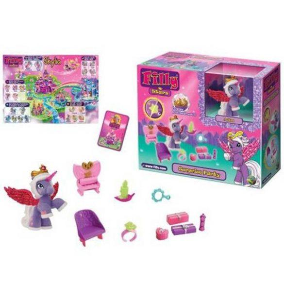 Filly Stars póni - Csillogó filly csillagpóni játékszett dobozban