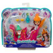 EnchanTimals Wonderwood - Csodás szánkó játékszett Felicity Fox babával