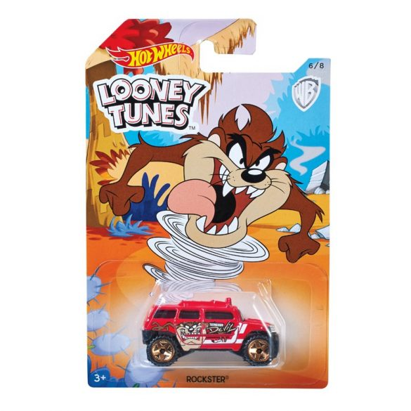Hot Wheels Looney Tunes kisautók - Rockster 6/8