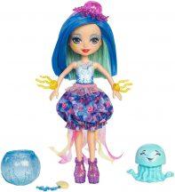 EnchanTimals Jessa Jellyfish hajszínváltós baba és Marisa, a medúza