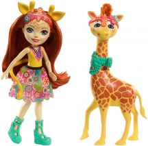 EnchanTimals baba Gillian Giraffe és Pawl, a zsiráf