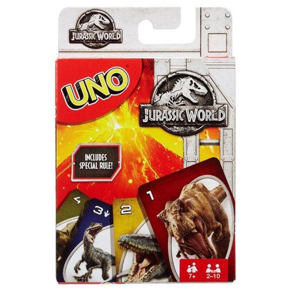 Jurassic World UNO kártya