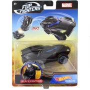 Hot Wheels Marvel ugráló karakter kisautók - Fekete Párduc