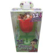 Flower Surprise: Meglepi virágbaba - Monica - piros virág