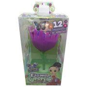 Flower Surprise: Meglepi virágbaba - Raven - lila virág