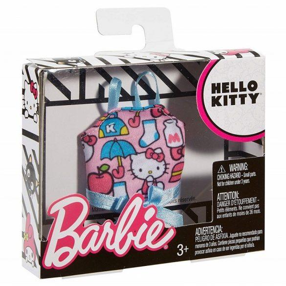 Barbie Hello Kitty kollekció - Hello Kitty rózsaszín felső