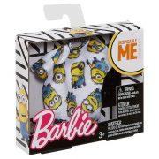 Barbie ruha Minions kollekcó - Minyonok mintás felső