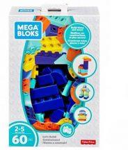 Mega Bloks: Építkezzünk! 60 darabos építőkocka készlet