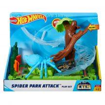 Hot Wheels City - Póktámadás a parkban pályaszett