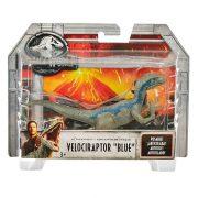 Jurassic World 'Kék' Velociraptor dinoszaurusz figura