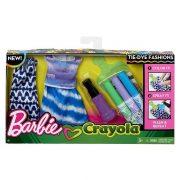 Barbie Crayola ruhafestő készlet - Lila