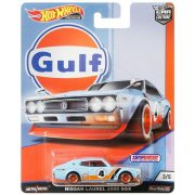 Hot Wheels Gulf kisautó - Nissan Laurel 2000 SGX 3/5