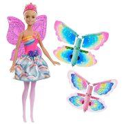 Barbie Dreamtopia - Pillangószárnyú tündér baba