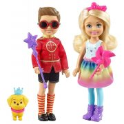 Barbie: Dreamtopia játékszett - Chelsea és Otto figurák