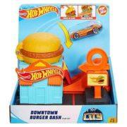 Hot Wheels City 50 - Hamburgerező játékszett