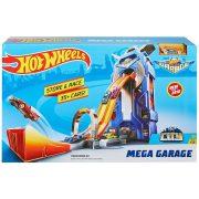 Hot Wheels City Huge Jump Mega garázs készlet
