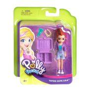 Polly Pocket - Lila figura fodrász szettel