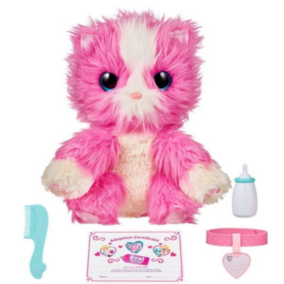 Fur Balls Real Rescue Pink fürdethető meglepetés plüss figura