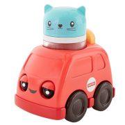 Fisher-Price Csörgős tűzoltó jármű cicával