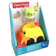 Fisher-Price Csörgős markoló jármű macival
