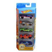 Hot Wheels - HW 50 TRACK STARS születésnapi kisautók (5 db-os csomag)