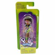 Polly Pocket - Shani figura mintás ruhában