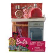Barbie kerti bútorok - Pizza sütő kemence