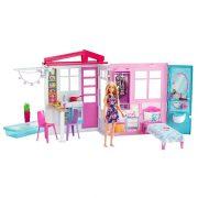 Barbie Tengerparti háza babával