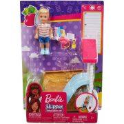 Barbie Skipper Babysitters - Homokozó  játékszett