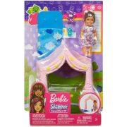 Barbie Skipper Babysitters - Kislány hálózsákkal és baldachinnal