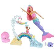 Barbie Dreamtopia Sellő bébiszitter készlet
