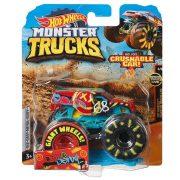 Hot Wheels Monster Trucks játék autó kilapítható autóval - Demo Derby