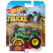 Hot Wheels Monster Trucks játék autó kilapítható gumiautóval - Test Subject