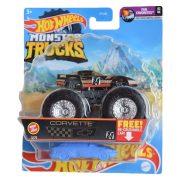 Hot Wheels Monster Trucks játékautó kilapítható gumiautóval - Corvette