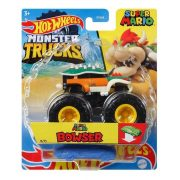 Hot Wheels Monster Trucks játékautó kilapítható gumiautóval - Super Mario Browser