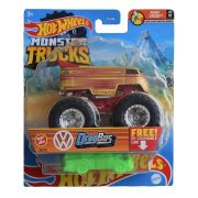 Hot Wheels Monster Trucks játékautó kilapítható gumiautóval - Volkswagen DragBus