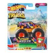 Hot Wheels Monster Trucks játékautó kilapítható gumiautóval - Town Hauler
