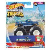 Hot Wheels Monster Trucks játékautó kilapítható gumiautóval - Big Foot