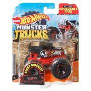 Hot Wheels Monster Trucks játékautó kilapítható gumiautóval - Bone Shaker
