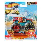 Hot Wheels Monster Trucks játékautó kilapítható gumiautóval - Demo Derby