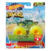 Hot Wheels Monster Trucks játékautó kilapítható gumiautóval - Hotweiler
