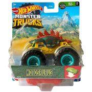 Hot Wheels Monster Trucks játékautó kilapítható gumiautóval - Motosaurus