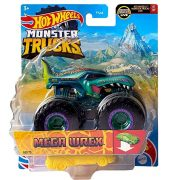 Hot Wheels Monster Trucks játékautó kilapítható gumiautóval - Mega Wrex